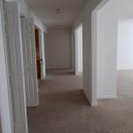 The hallway viewed from the Master Bedroom doorway